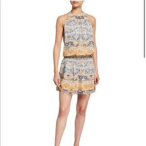 Ramy Brook Paris Printed Smocked Dress